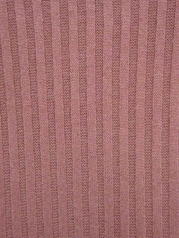 JMVB Lux Loungewear Long Sleeve Top Cognac Fabric
