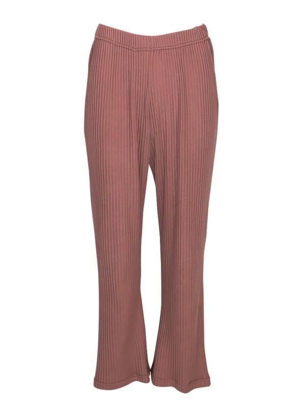 JMVB Lux Loungewear Pants Cognac