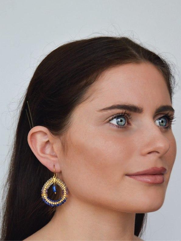 Kirsten Goss Fabrix Blue Model