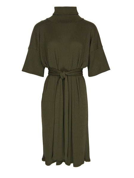 polo neck midi dress olive South Africa