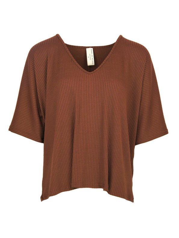 IDV Knit V-neck Top Copper _SHPEN30