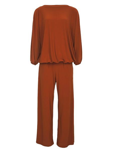 matching top and pants set rust brown South Africa