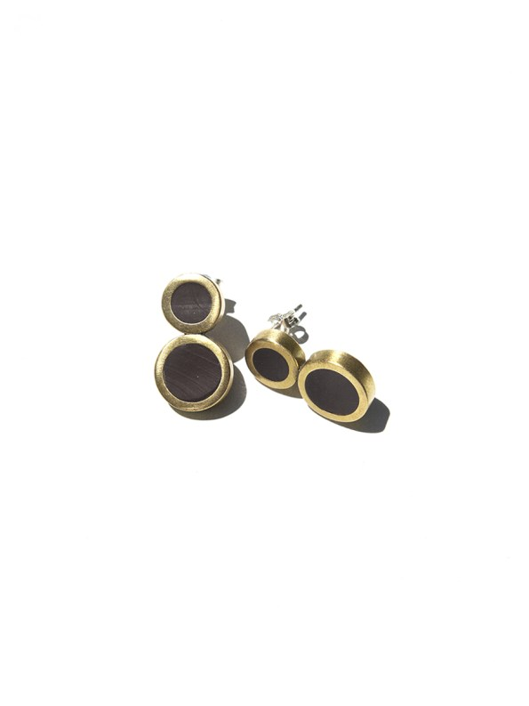 Iloni Eight Earring Black Flat 2
