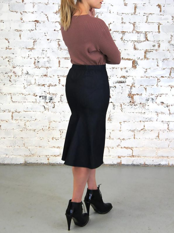 JMVB Denim Pencil Skirt Indigo Back _Expo0.6 SHPEN100