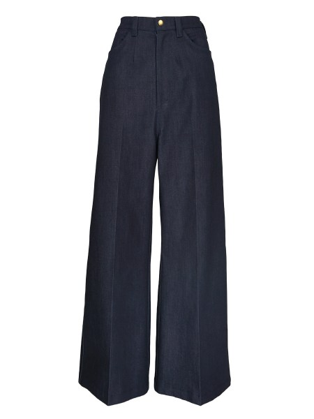 Ladies high waisted wide leg jeans South Africa