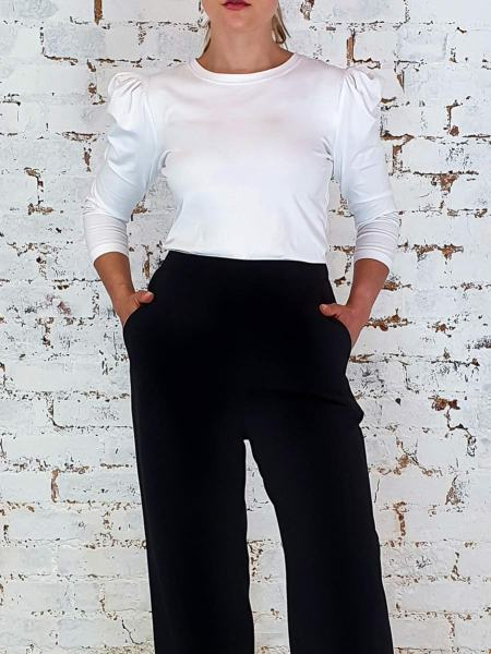 White stretch winter top women South Africa