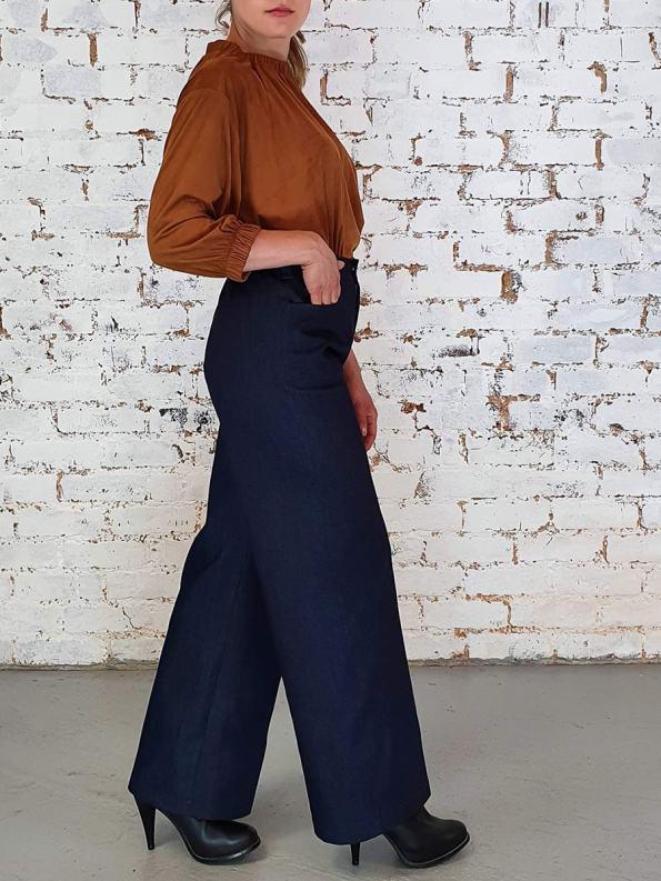 JMVB Straight Leg Jeans Indigo Side 2