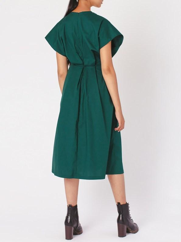 Mareth Colleen Hazel Dress Green Back