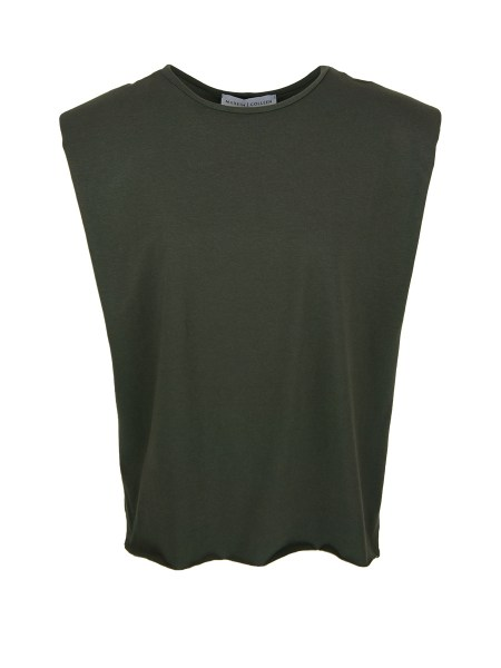 Green shoulder pad t-shirt for women South Africa