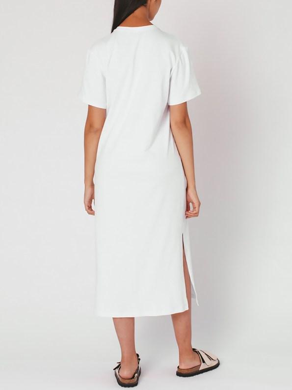 Mareth Colleen T-shirt Dress White Back