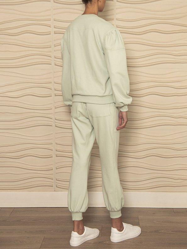Smudj Alvie Top Cora Pants Mint Green Back