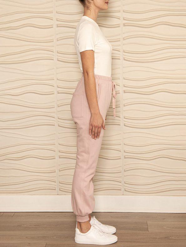 Smudj Cora Pants Blush Pink Side