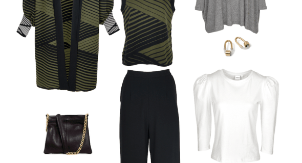 How to style classic straight-leg black pants