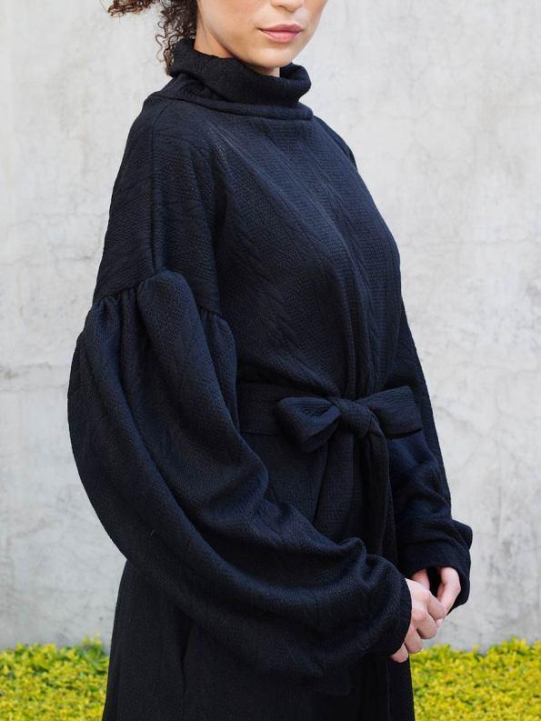 Erre Doyenne Dress Black 1