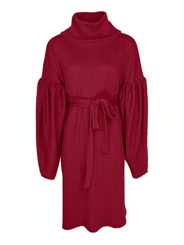 Erre Doyenne Dress Cranberry