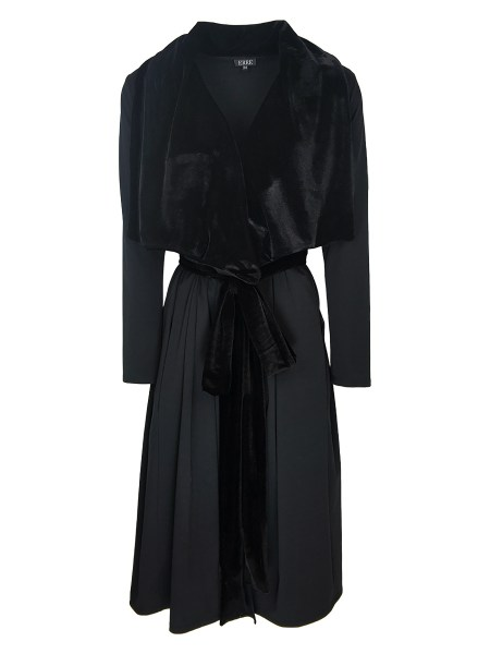 black velvet waterfall coat for women South Africa