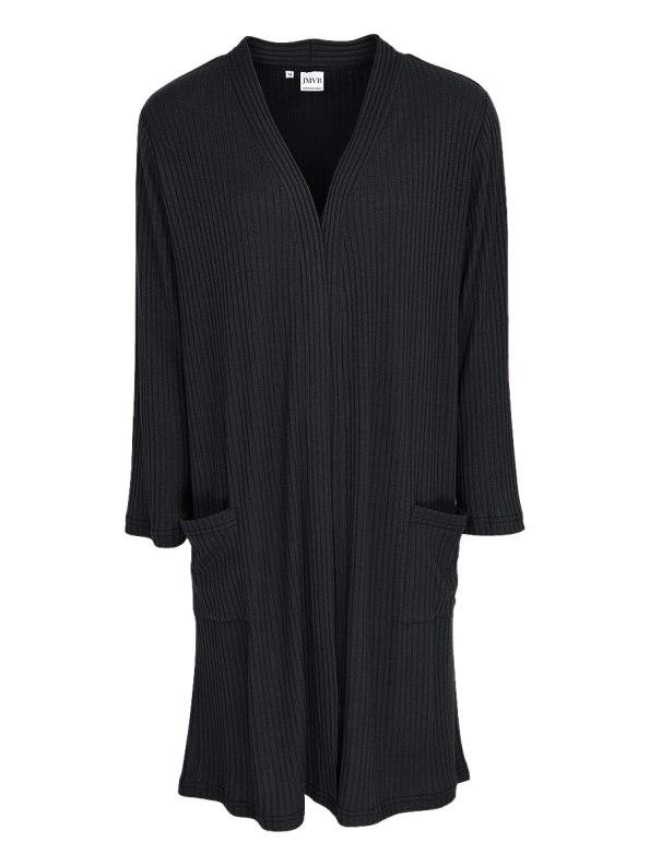 JMVB Loungewear Long Cardigan Black