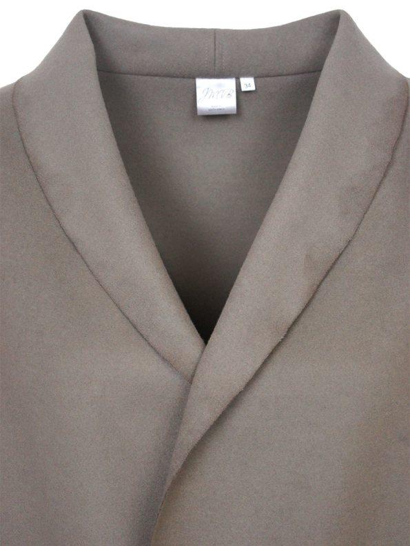 JMVB Signature Coat Mink Collar
