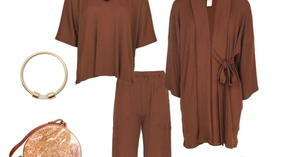 How to style your brown loungewear