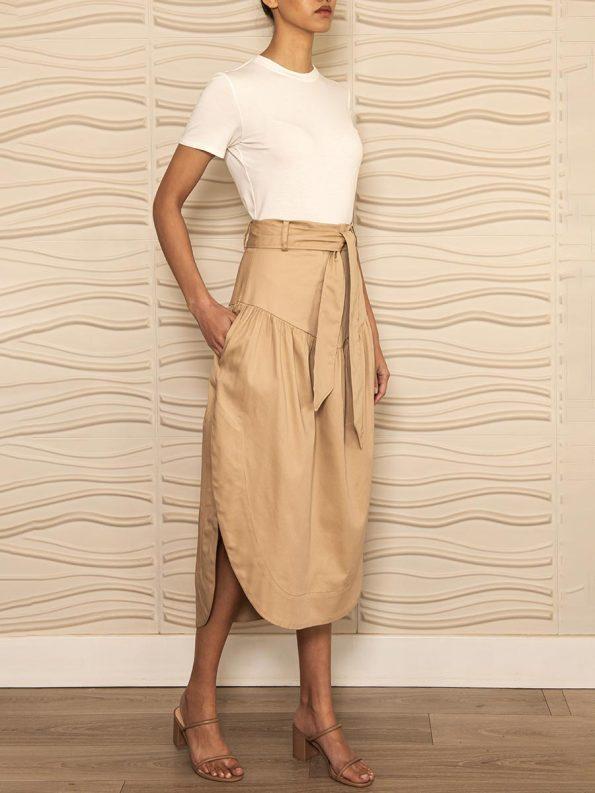 Smudj Philomena Petal Skirt Angle
