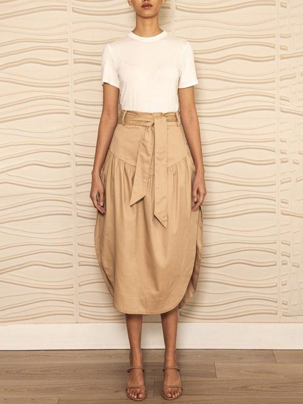 Smudj Philomena Petal Skirt Front
