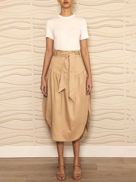 Beige cotton skirt South Africa