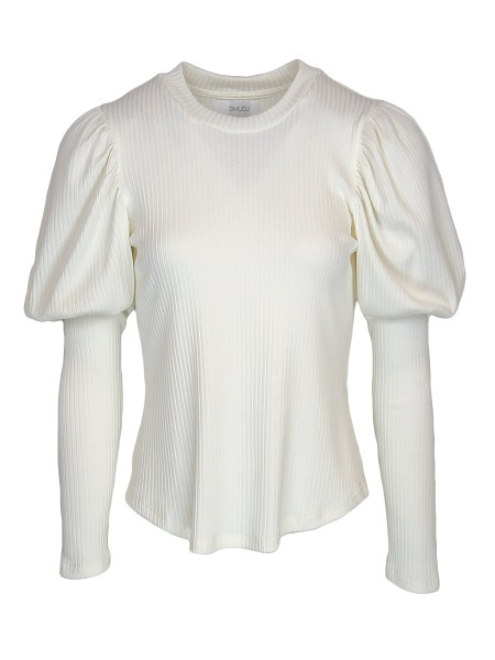 White puff sleeve long sleeve top South Africa