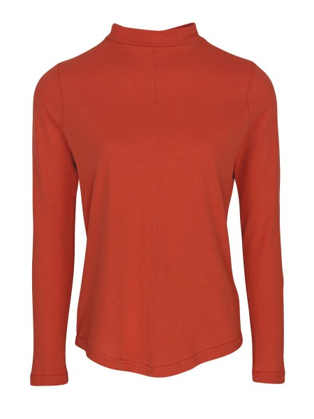 orange coral long sleeve top for women South Africa
