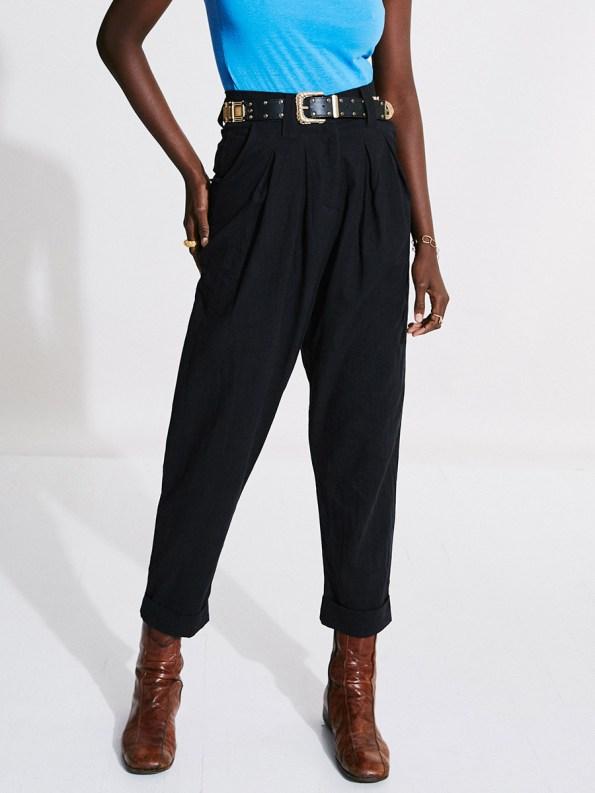 Asha Eleven Tembea Trousers Black with Kamba Bodysuit 3