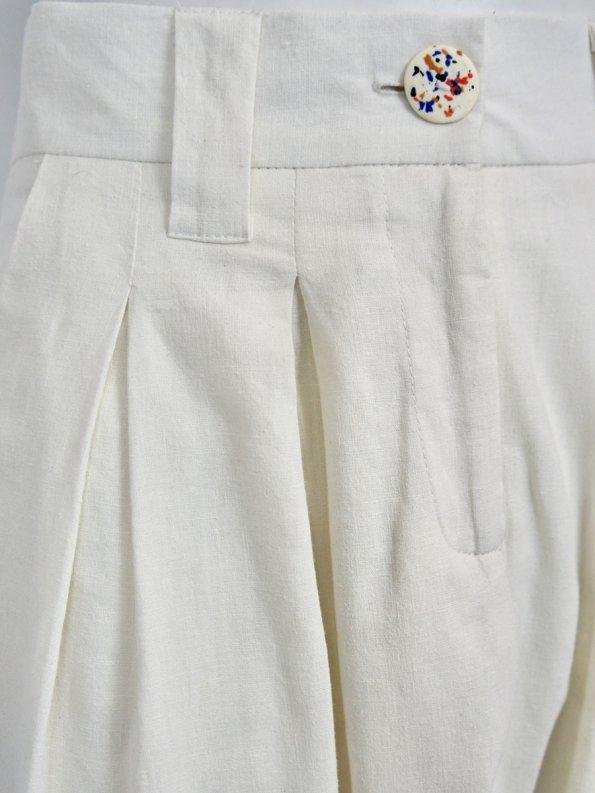 Asha Eleven Tembea Trousers Natural Detail