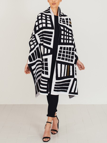 Jacquard knitted wrap South Africa