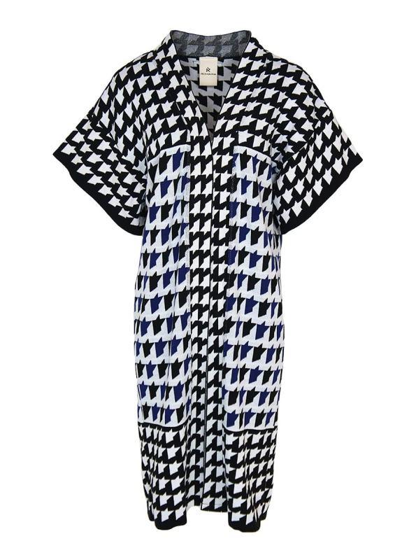Romaria Knitted Kimono Cobalt Blue _SHPEN90