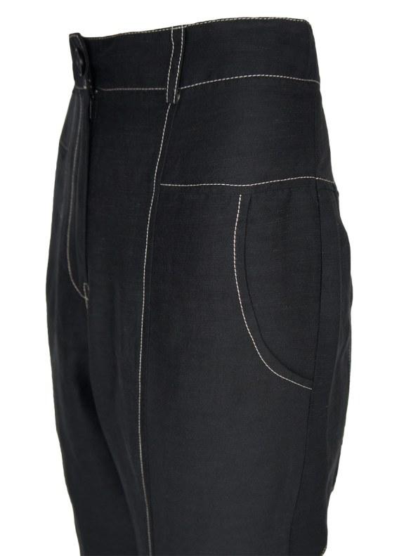 Smudj Arco Pants Noir Detail
