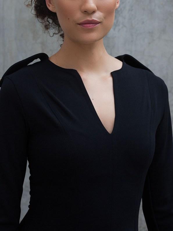 Erre Commander Dress Black 3