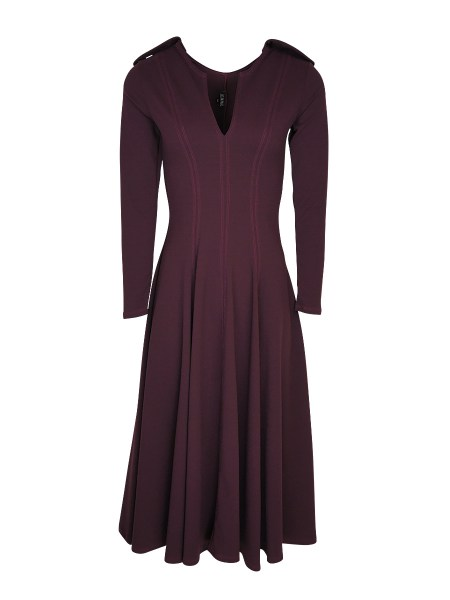 purple plum fit and flare dress South Africa