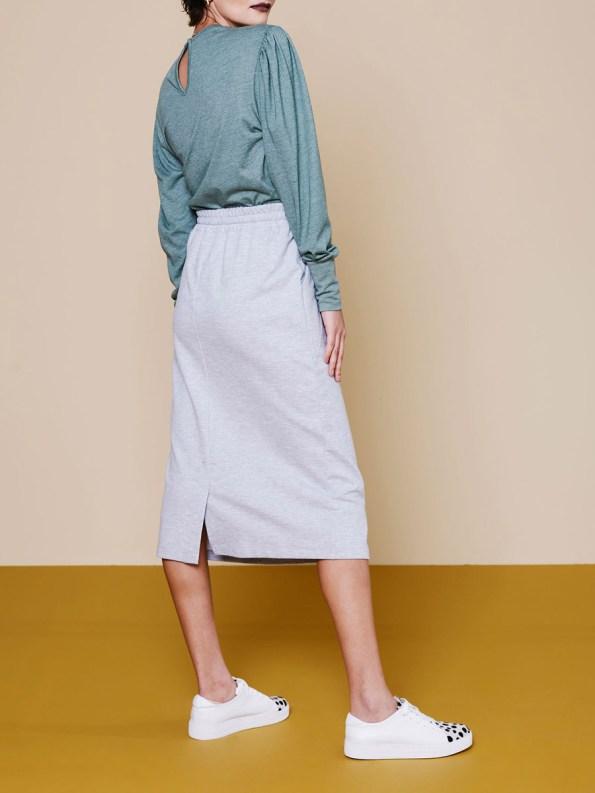 Good Lounge Skirt Grey 3