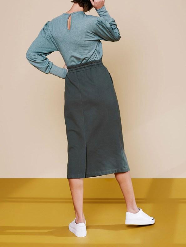 Good Lounge Skirt Olive 1