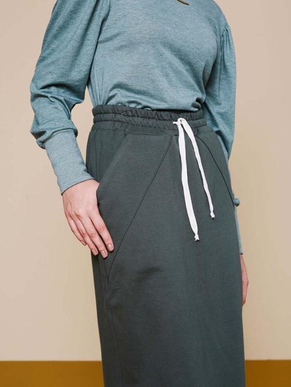 Good Lounge Skirt Olive 3