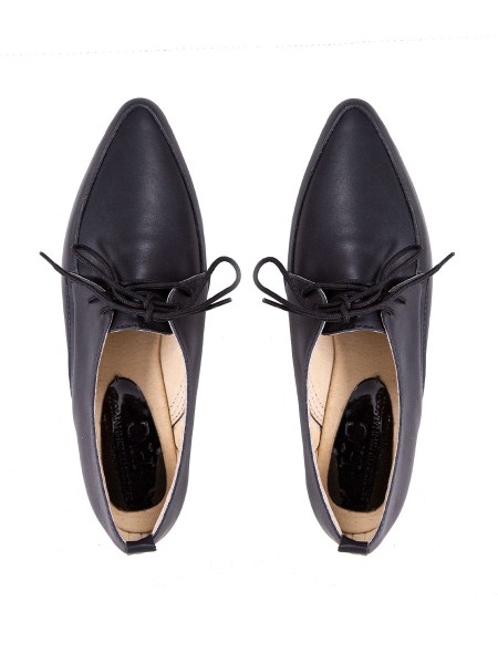 black leather flats South Africa