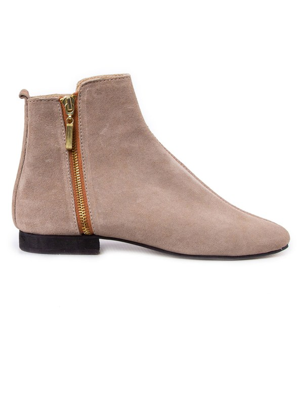 HoC Suna Boots Suede Stone Side