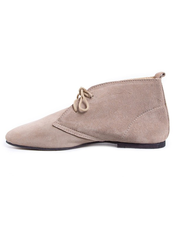 HoC Taylor Boots Stone Suede Right