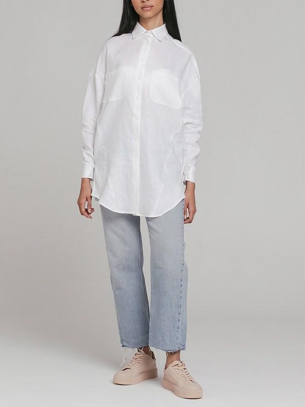 Mareth Colleen Ashley Shirt White 1