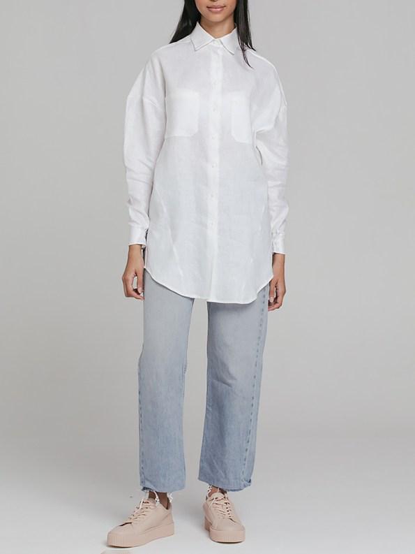 Mareth Colleen Ashley Shirt White 2
