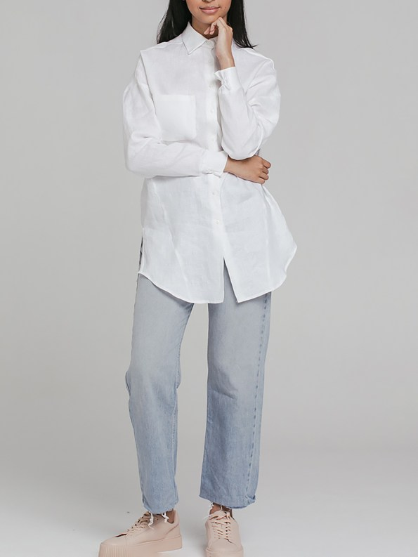 Mareth Colleen Ashley Shirt White 4