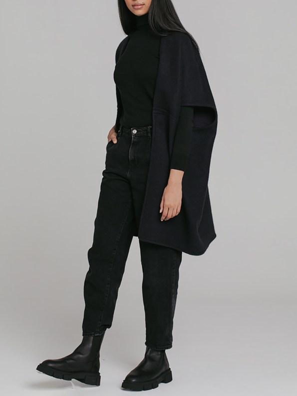 Mareth Colleen Jei Coat Navy 2