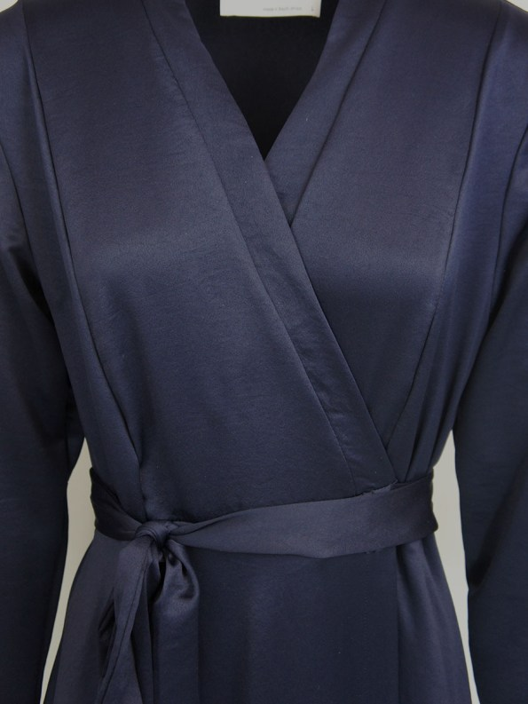 Mareth Colleen Jo Wrap Dress Navy Detail _shpen