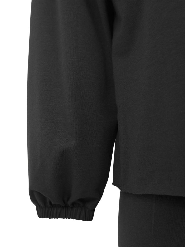 Mareth Colleen Sweater Outfit Black Detail