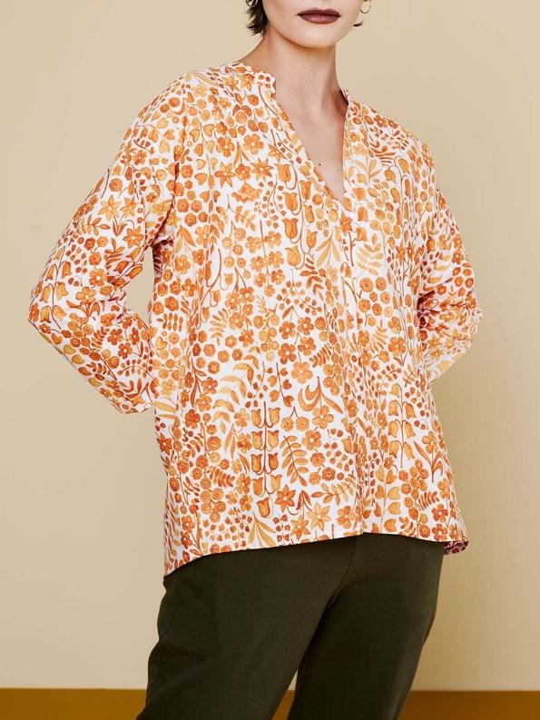 GOOD Bask Shirt Floral 1