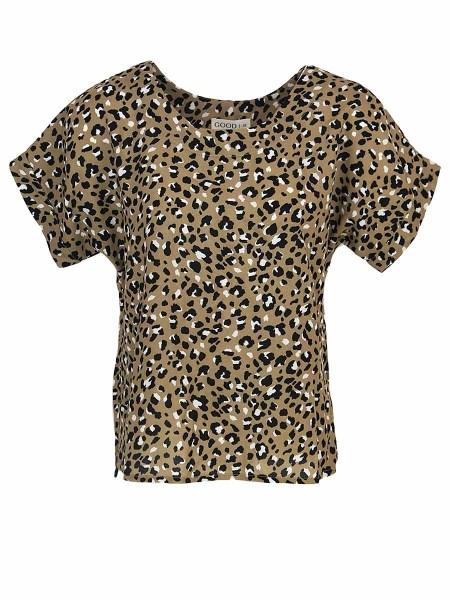 Ladies leopard print shirt