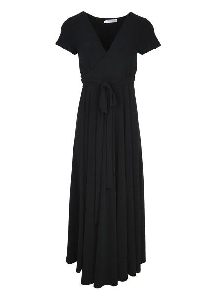 plus size dress black